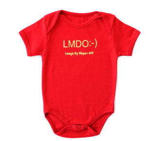 Text Message Baby Onesies – For the Wee Geeks